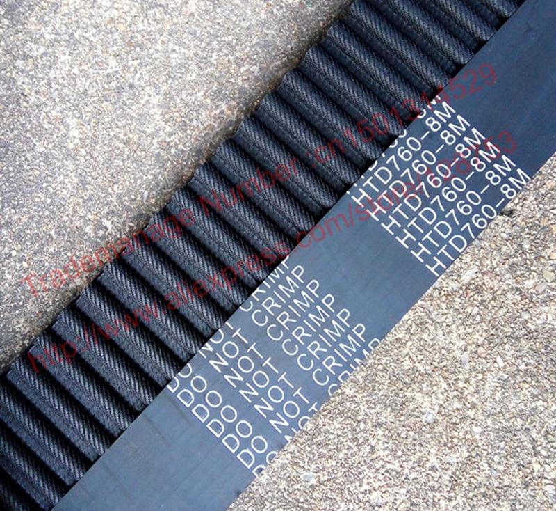1pc 760-HTD8M-30 Timing belt length 760mm width 30mm pitch 8mm Neoprene Rubber HTD 8M 760 30 STD S8M Timing belts free shipping 1pc 760 htd8m 25 timing belt length 760mm width 25mm pitch 8mm neoprene rubber htd 8m 760 25 std s8m timing belts free shipping