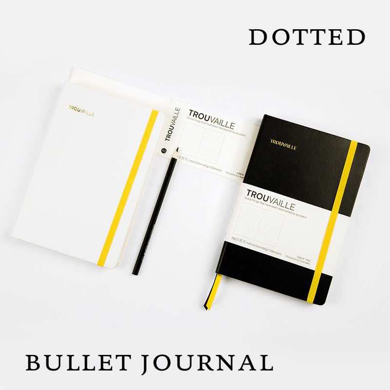 все цены на A5 Dot Grid Notebook Hard Cover Diary Thick Dotted Bullet Journal Bujo Notebooks онлайн