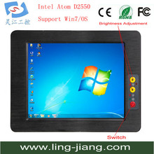 Industrial Touch Panel All in One PC with 17 inch Computer touchpanel