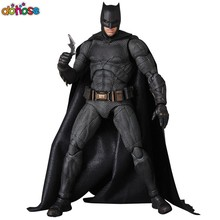 Movies The Dark Knight Batman Figure Joint movable with Accessories MAFEX 056 Justice League Action Figure Model Kids Toy(China)