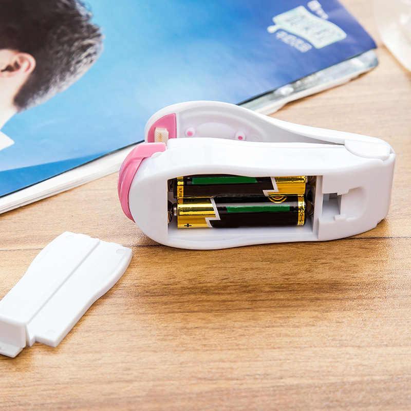 Portable Plastic Bag Clips Handheld Mini Electric Heat Sealing Machine Impulse Sealer Seal Packing  Mini Heat Sealing