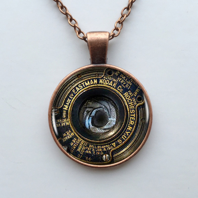 Wholesale glass dome fast shipping camera lens logo pendant necklace wholesale glass dome fast shipping camera lens logo pendant necklace vintage chain choker statement necklace jewelry mozeypictures Image collections