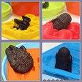 Novo Criativo Silicone Bandeja de Cubos de Gelo de Star Wars Darth Vader Biscoitos Molde Sabonete de Chocolate do Cozimento Da Cozinha Ferramenta Makers Ice Cream