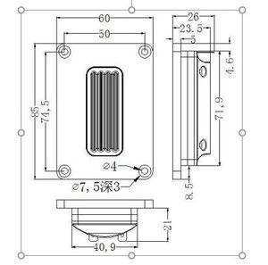 Image 4 - Sounderlink 2 pièces/lot 94dB 15 30W puissance HiFi défense haut parleur ruban tweeter pour bricolage moniteur système haut parleur