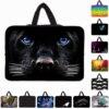 Animal Prints Notebook Laptop Inner Sleeve Case Neoprene Zipper Netbook Housings Bags For 9 7 10