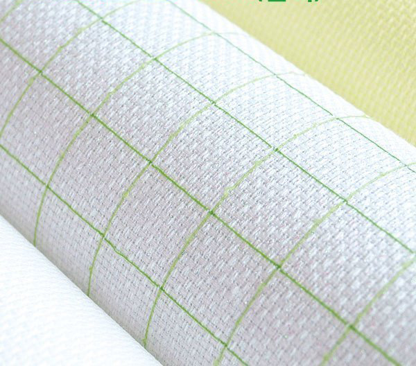 JCS FREE Shipping Top Quality 14CT 14ST Cotton Pre-grid Grided Cross Stitch Canvas Fabric, Color Lined Grid Embroidery Canvas