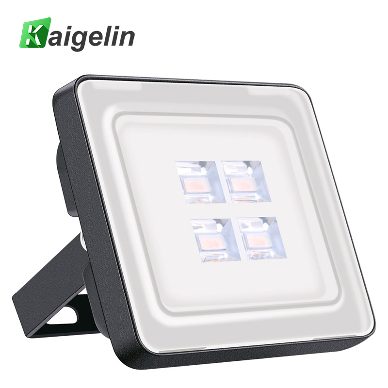 2 Pcs 10W IP67 Waterproof LED Flood Light 220-240V 1200LM 12 LED SMD2835 LED Floodlight For Outdoor Wall Garden Square Lighting