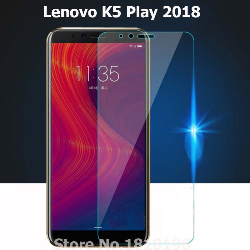 Закаленное стекло для Lenovo K5 Play защита экрана ультратонкий передний ЖК-смартфон Flim Для Lenovo K5 play 2018 стеклянный чехол