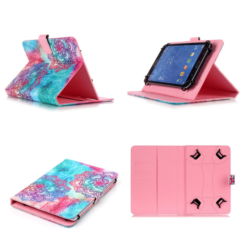 10 Universal PU Leather Stand Cover Case Skin for Samsung Galaxy Tab A A6 10.1 inch With S pen P580 P585 / T580 T585 Tablet PC slim print case for acer iconia tab 10 a3 a40 one 10 b3 a30 10 1 inch tablet pu leather case folding stand cover screen film pen
