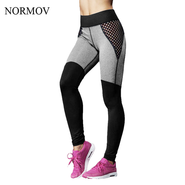 NORMOV S-XL Adventure Time Leggings Workout Push Up Leggings Women Active Cotton Legging Fashion Sexy Hollow Leggings Women