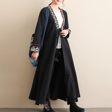 355d94e66f Autumn-Trench-Coat-For-Women-High-Quality-Long-Coat-Female -Chinese-Style-V-Neck-Belt-Trenchcoat.jpg 220x220q90.jpg