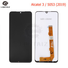 For Alcatel 3 OT5053 5053 5053D LCD Display Digitizer Touch Panel Screen Assembly + Free Tools lcd assembly display touch screen digitizer panel for microsoft surface pro 3 1631 tom12h20 v1 1 ltl120ql01 003 free tools