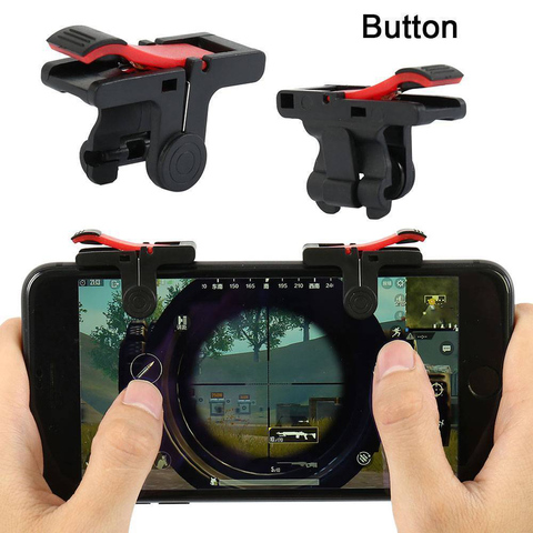 For Pubg Gamepad For Mobile Phone Game Controller Shooter Trigger Fire Button For IPhone Android Phone Game Pad Accessories Pakistan
