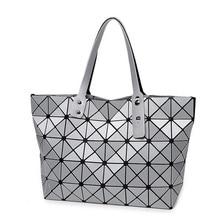 Realer marca 2016 de la venta caliente mujeres bolso de la manera geométrica rhombus bolsos de las señoras populares de las mujeres bao bao messenger bags famoso diseño
