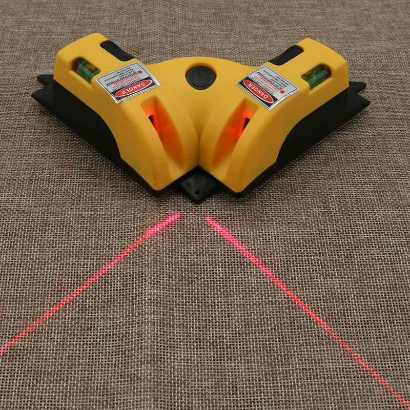 Right Angle Two Lengthened 90 Degree Vertical Horizontal Laser Line Projection Square Level Laser Level laser Measurement Tools