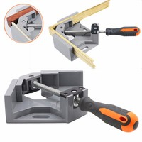 Corner Clamp Angle Vise 90 Angle Great DIY Home Handle Tool 100% Aluminum alloy Corner Clamp Workbench
