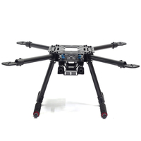 Tarot LJI 500 X4 500mm Quadcopter Frame S500 SK500 F450 Upgrade FPV Glasses Fiber Arms Carbon Fiber with Fixed Landing Gear