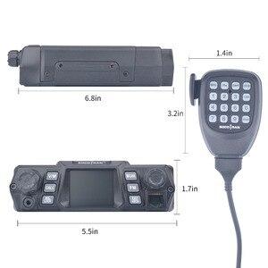 Image 3 - Mobile Ham Radio Transceiver VHF 75W UHF 55W High Power Mobile Auto Radio Dual Band Quad Standby Fahrzeug transceiver Station