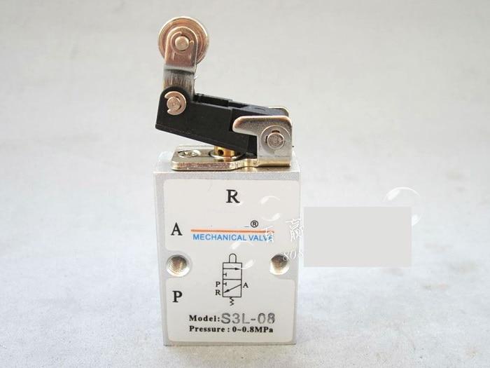 цена на Supply AirTac genuine original mechanical valve S3L-08.