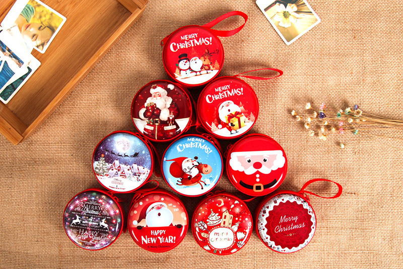 Christmas Decorations Toy Creative Children's Toys Christmas Tree Pendant Santa Claus Send Gifts For Kids