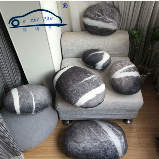 Outdoor Cushion Living Stones Backrest Colorful Country Road Pebble Case Of  Lumbar Support Floor Case Of Cushion Room Decors In Automobiles Seat Covers  From ...
