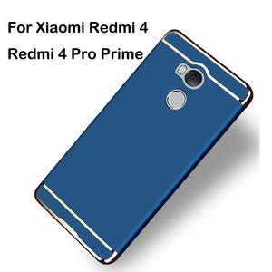 3 In 1 Case For Redmi 4 Cover 50 Luxury Hard Back 360 Degree Protection Slim