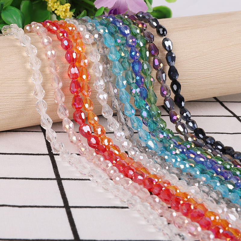 Beads & Jewelry Making 145pcs 4mm Crystal Rondelle Glass Beads Diy Jewellery Making For Bracelet Necklace Center Drilled 18 Color