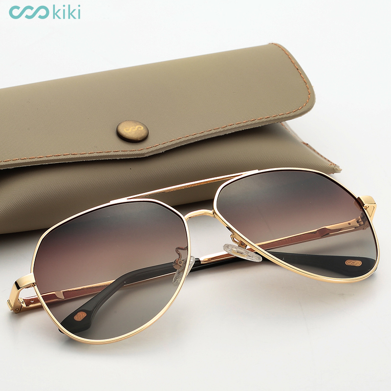 KIKI Men Women Polarized Sunglasses Aviator Glasses Driving