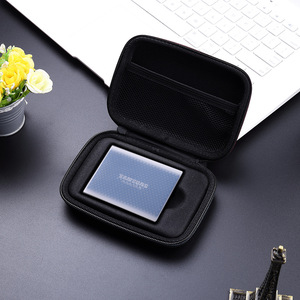 Image 5 - Portable antichoc sac de transport Silicone pour Samsung T5 / T3 / T1 Portable SSD 250GB 500GB 1 to 2 to USB 3.1 Type C disque dur