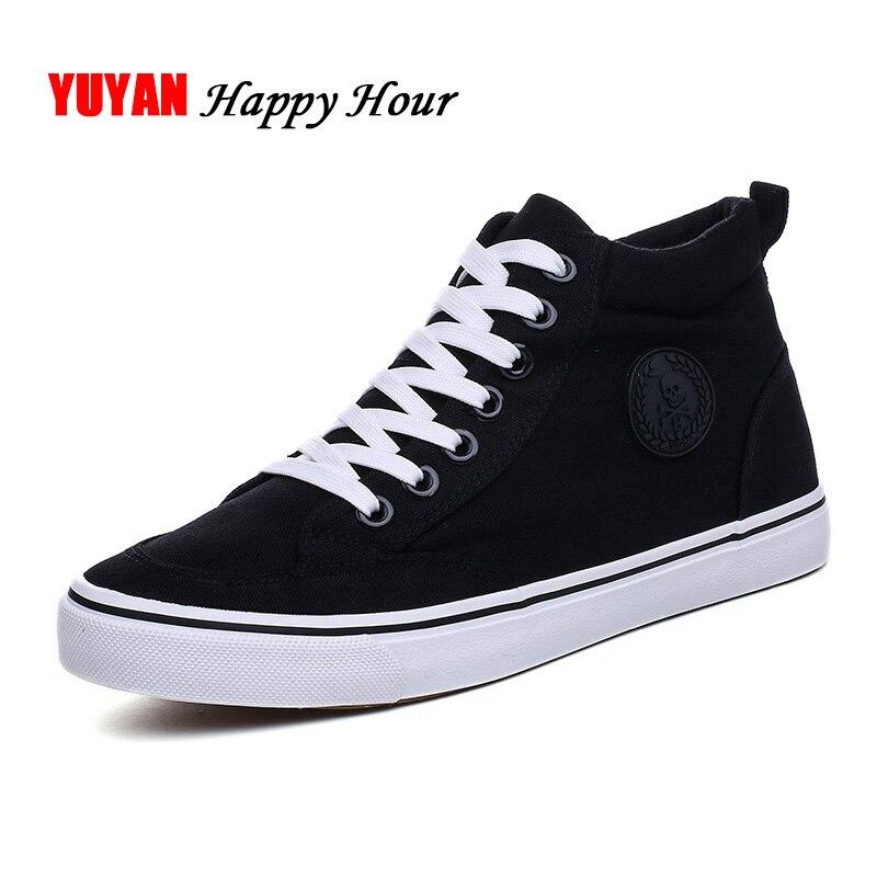 hot sale online 5c8cb 02b69 Sneakers Canvas Shoes Men s Casual Shoes Black White