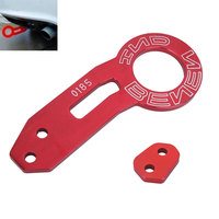 Car Style Red Aluminum Racing Rear Car Tow Hook For Car Auto Trailer Ring Towing Bars