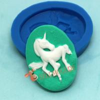 I1008 Horse Silicone Cake Mold,Fondant Cake Decorating Tools Silicone Cake MouldBKSILICONE