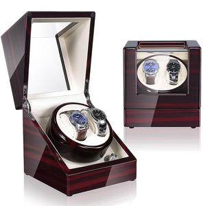 Time partner watch winders for automatic watches Luxury wooden watch shaker Gift box