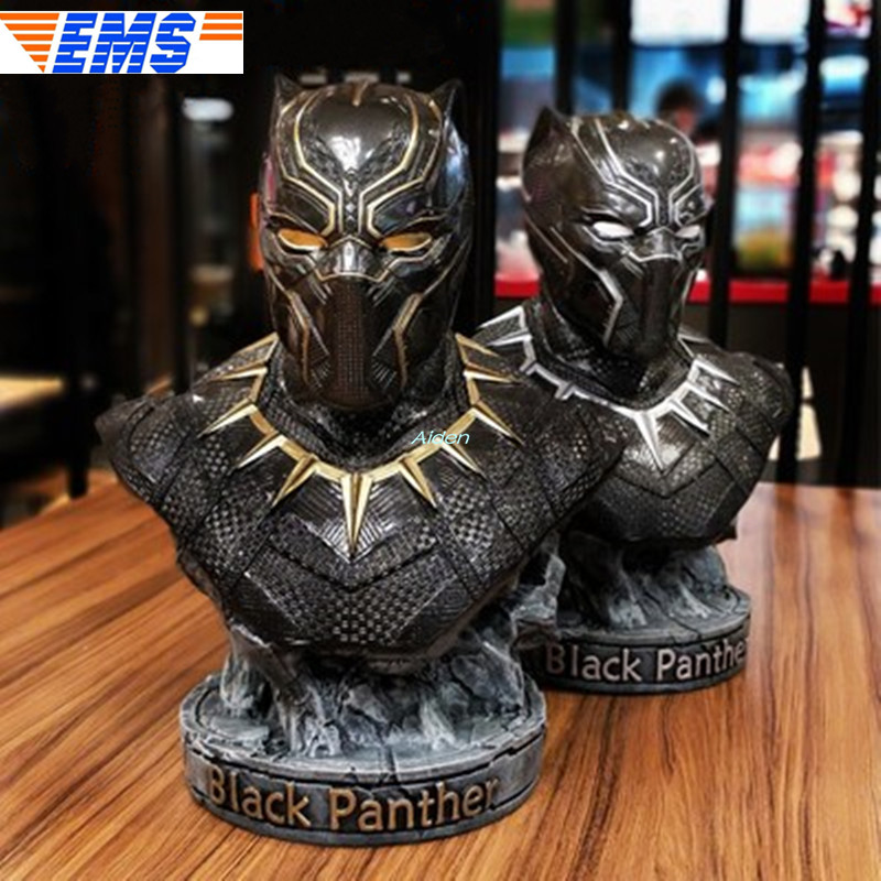 14 Avengers Infinity War Superhero Statue Black Panther Bust Half-Length Photo Or Portrait GK 1/2 Action Figure Toy BOX Z43114 Avengers Infinity War Superhero Statue Black Panther Bust Half-Length Photo Or Portrait GK 1/2 Action Figure Toy BOX Z431