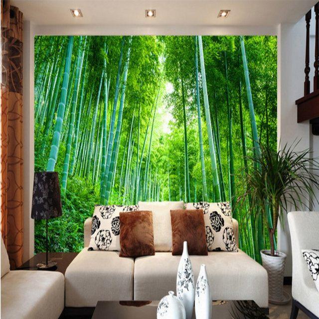 Bambus Im Wohnzimmer. Esstisch Bambus Modell Stone Wohnzimmer .