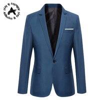Blazer Men Chinese Collar Suit Mens Summer Blazer Hommes Casual Jacket Men Fashion Patchwork Brand Clothing