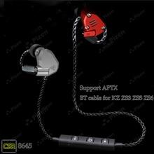 цена Bluetooth cable APTX for Shure SE215 SE535 UE900 TF10 earphone cable for SENNHEISER IE80 IE8I W4R IM50 LS400 Z5 A2 H3 XBA300AP в интернет-магазинах