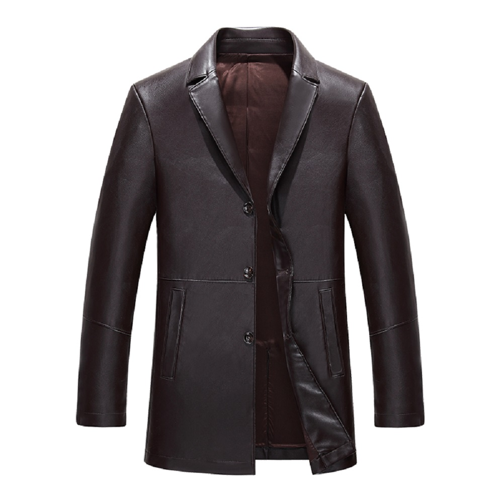 free porn video leather coat