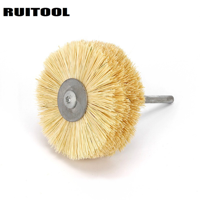 Ruitool 80 6mm Polishing Wheels Sisal Wire Wheel Abrasive