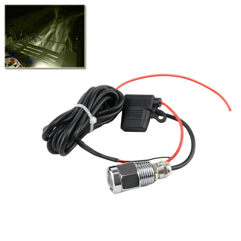 Car Styling Led Boat Marine 9W Drain Plug Light Waterproof IP68 White Underwater Lamp W Waterproof