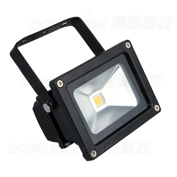 Promotion outdoor led floodlight 10W 85-265V  black IP65 waterproof led Flood Light for Garden led spotlight outdoor