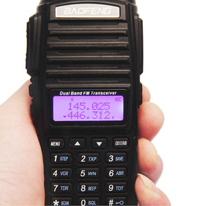 Image 2 - Baofeng UV 82 Plus  8Watts Powerful Walkie Talkie 10km Long Range Portable CB Transceiver 8W two way Radio upgrade of UV 82