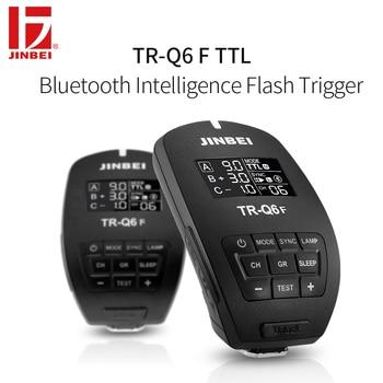 JINBEI TR-Q6 HSS TTL Trigger for Fuji 2.4G Wireless Radio Studio Flash Transmitter Photography Lighting Remote Controller