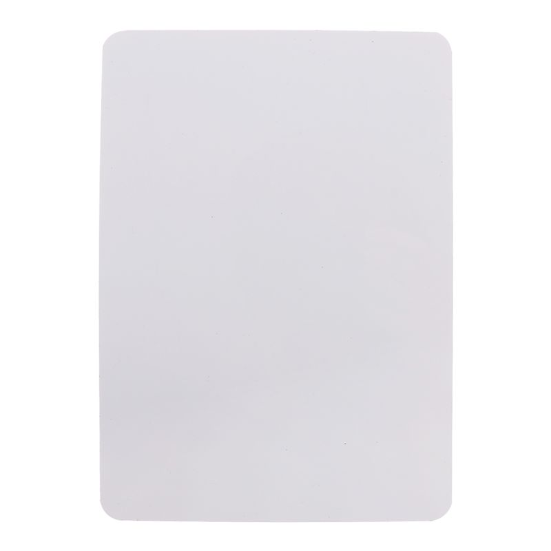 <font><b>A5</b></font> Magnetic <font><b>Whiteboard</b></font> Dry Erase Fridge Drawing Recording Message Board Refrigerator Memo Pad 210x150mm image