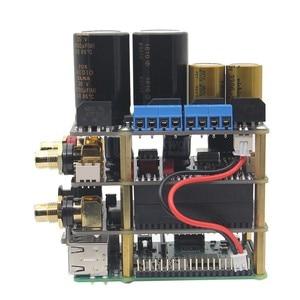 Image 2 - פטל Pi X20 Hifi אודיו ערכת (X20 ES9028Q2M DAC לוח/X10 I2S לוח/X10 PWR אספקת חשמל לוח/ x10 HPAMP מגבר (KitB))