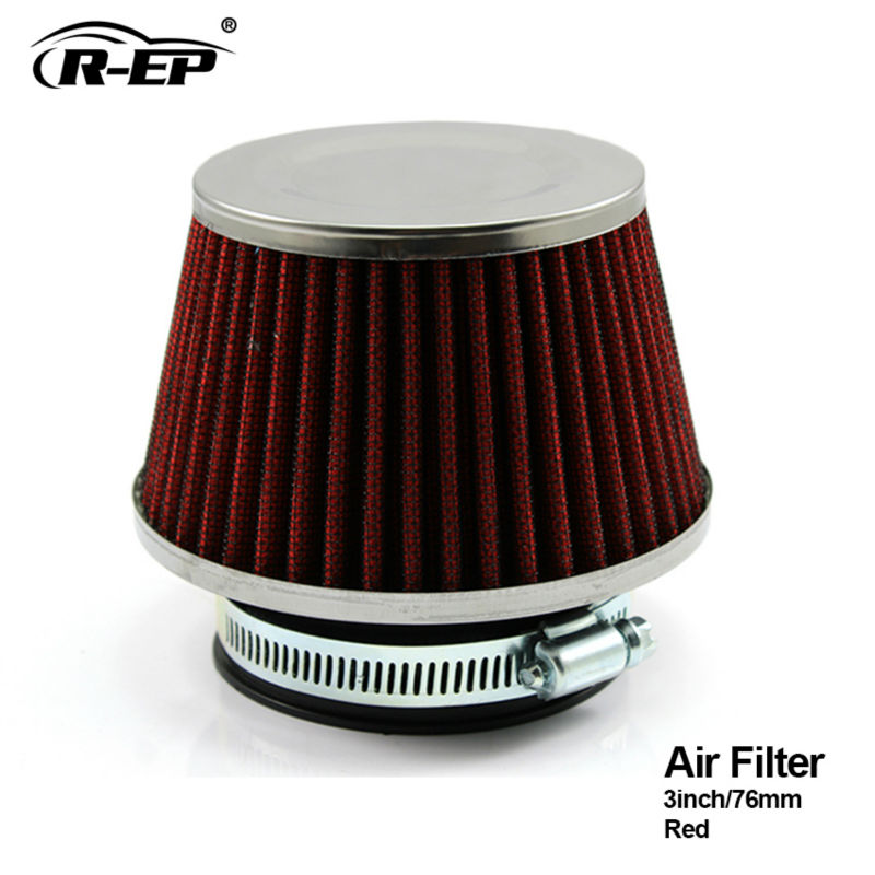 Auto Replacement Parts New Fashion Racing Universal Air Filter 3 Inch 76mm Air Intake Filter Height High Flow Cone Cold Air Intake Performance Tt100926 Discounts Sale Air Intake System