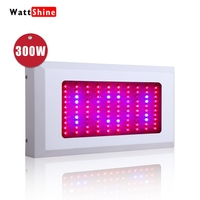 300W led grow light Full spectrum Indoor planting Greenhouse cultivate Hydroponics Flower plant White Actual power 155W