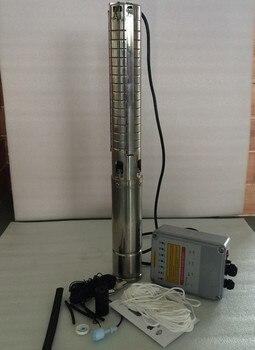 Bomba Solar sumergible de 3 pulgadas CC 48V 500W, Envío Gratis, bomba Solar de pozo profundo para riego de pozos 3SPSC5.0/50-D48/500