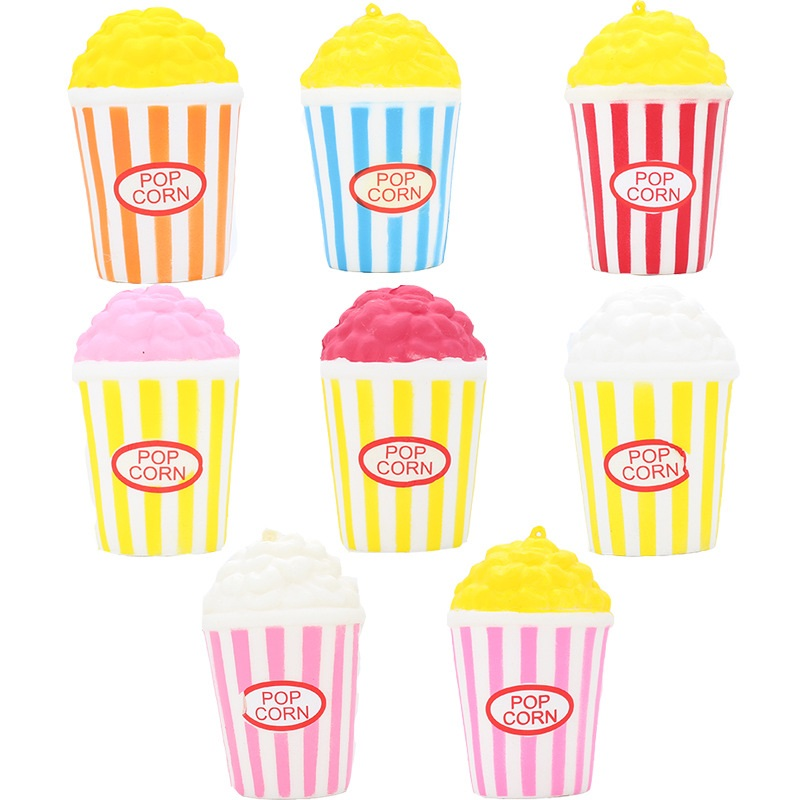 Hot Jumbo Squishy Popcorn Slow Rebound PU Squeeze Antistress Toy Squishies Stress Relief Toy And Funny Gifts Toy For Children