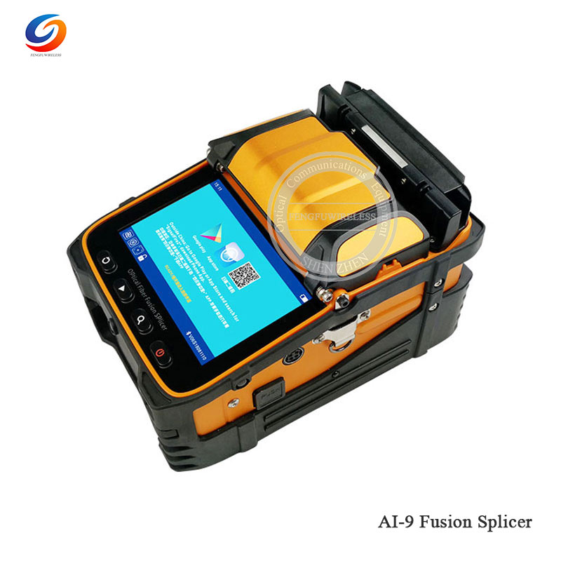 Best Price 2019 New AI-9 Fusion Splicer Machine With OPM & VFL Function SM&MM Multi-language